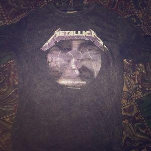 Women's Metallica Ride The Lightning Blouse/Tee